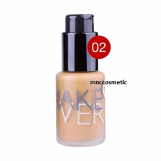 Harga Makeover Ultra Cover Liquid Matt Foundation 02 Pink Shade Make Over Asli