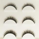 Harga Makeup 3D Natural Long Fake Eyelashes Handmade Tebal Bulu Mata Palsu Hitam Baru Murah