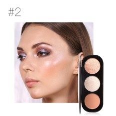 Makeup Foundation Cream Concealer Mention Powder High Light Powder Blush Plate B