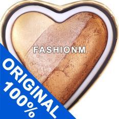 Spesifikasi Makeup Revolution Blushing Hearts Bronzer Hot Summer Of Love Online