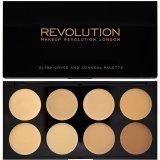 Beli Makeup Revolution Ultra Cover And Conceal Palette Light Medium Murah Dki Jakarta