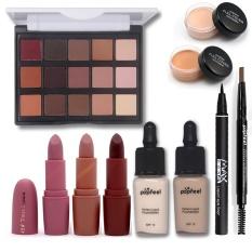 Makeup Tool Kit Termasuk Matte Eyeshadow Lipstik Foundation Concealer Alis Pensil Eyeliner Makeup Set Kosmetik Kit Maquiagem-Intl