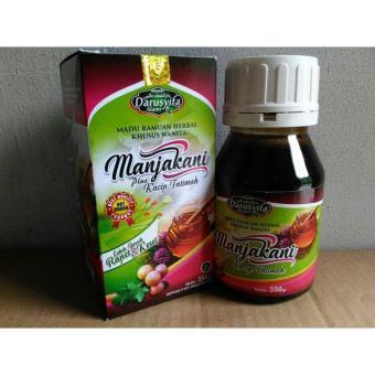 Harga Penawaran Manjakani majakani plus Kacip Fatimah - Madu ramuan Herbal khusus Wanita isi 350gr discount