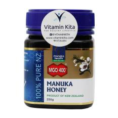 Diskon Besarmanuka Health Manuka Honey Mgo 400 100 Pure Nz 250 Gr