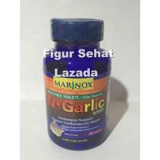 Marinox N. Garlic 6500 Mg 60's - Ekstrak Bawang Putih, Menurunkan Kolesterol, Suplemen Jantung, Hipertensi, Nyeri Radang Sendi