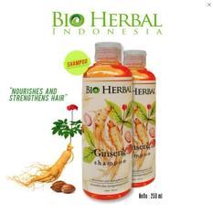 Market - Bio Herbal Shampoo Ginseng Mengatasi Ketombe dan Kerontokan BPOM Original  - 250 ml