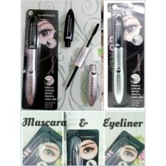 Maskara & Eyeliner 2 in 1 - Mascara dan Eyeliner 2in1 M.A.C Waterproof - Black