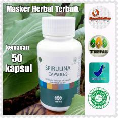 Masker Anti Jerawat Terbaik - Tiens Spirulina Capsules - Alami Herbal & Cocok Untuk Semua Jenis Kulit Wajah
