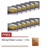 Jual Masker Bibir Collagen Lip Mask 10 Pcs Gratis Naturgo Masker Lumpur 1 Pcs Masker Bibir Original