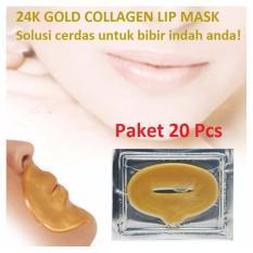 Masker Bibir Collagen Lip Mask - 20 Pcs