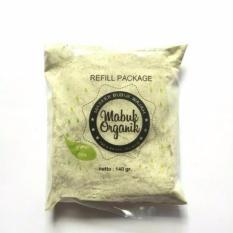 Jual Masker Bubuk 100 Organik Masker Wajah Green Tea Kemasan Refill 140 Gr Masker Bubuk Organik Asli
