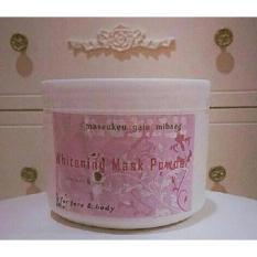 Tips Beli Masker Bubuk Korea Whitening Mask Powder Wmp Original Yang Bagus