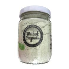 Masker Bubuk Wajah - Mabuk Organik - 100% Bahan Organik - Masker Green Teh 150gr
