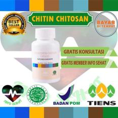 Info Sehat - Masker chitin chitosan herbal tiens 20 kapsul (promo murah)