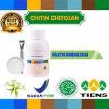 Masker Chitin Chitosan Tiens 10 Kapsul Obat Jerawat Gratis Kuas Plate Murah