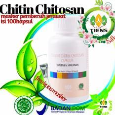 Harga Masker Chitin Chitosan Tiens Mengatasi Jerawat Serta Kulit Berminyak By Silfa Shop Baru Murah
