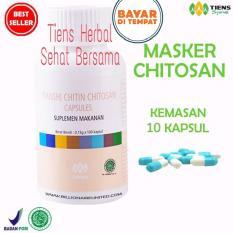 Beli Masker Chitosan Tiens Herbal Anti Jerawat Paket 10 Kapsul Online