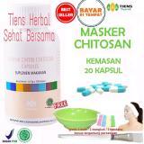 Cuci Gudang Masker Chitosan Tiens Herbal Anti Jerawat Paket 20 Kapsul