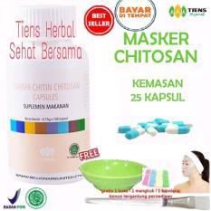 Jual Masker Chitosan Tiens Herbal Anti Jerawat Paket 25 Kapsul Online Jawa Timur