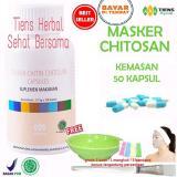 Jual Masker Chitosan Tiens Herbal Anti Jerawat Paket 50 Kapsul Termurah