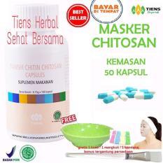 Harga Masker Chitosan Tiens Herbal Anti Jerawat Paket 50 Kapsul Tiens Jawa Timur