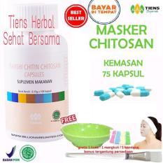 Toko Masker Chitosan Tiens Herbal Anti Jerawat Paket 75 Kapsul Terlengkap