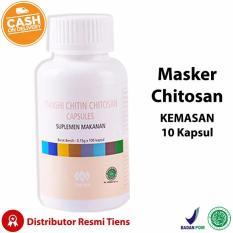 Promo Masker Chitosan Tiens Original Kemasan 10 Kapsul Free Member Card Amelia Olshop Akhir Tahun