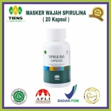 Review Masker Ganggang Hijau Spirulina Herbal Tiens 20 Kapsul Di Indonesia