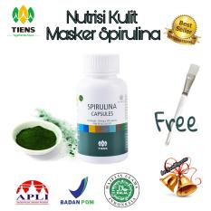 Toko Masker Herbal Spirulina 20 Kapsul Kuas Masker Wadah Masker Online Indonesia