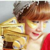 Masker Mata Collagen Gold Eye Crystal Collagen Mask 7 Sachet Murah