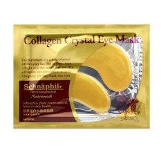 Beli Masker Mata Gold Eye Mask Collagen Isi 10 Pasang Terbaru