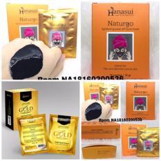 Masker Naturgo Hanasui BPOM 10 Sachet dan Masker Hanasui Gold 10 Sachet