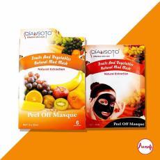 Masker Qiansoto Fruit And Vegetable / Masker Wajah Qiansoto - 3sachet