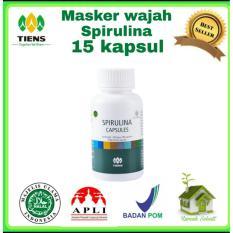 Dimana Beli Masker Spirulina 15 Kapsul Tiens Supplement