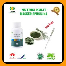 Jual Masker Spirulina 15 Kapsul Anti Jerawat Branded Original