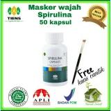 Cuci Gudang Masker Spirulina 50 Kapsul