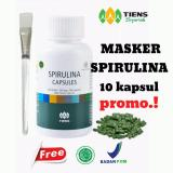 Harga Masker Spirulina Promo Plus Free Kuas Yg Bagus