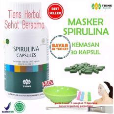 Harga Masker Spirulina Tiens Herbal Pemutih Wajah Paket 30 Kapsul Merk Tiens