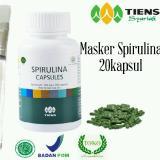 Spesifikasi Masker Spirulina Tiens Original Promo Yang Bagus Dan Murah