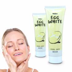 Harga Termurah Masker Telur Whitening Pemutih Wajah White 100 Alami