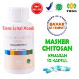 Review Tentang Masker Tiens Chitosan Herbal Anti Jerawat Isi 10 Kapsul