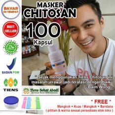 Beli Masker Tiens Chitosan Herbal Anti Jerawat Isi 100 Kapsul Lengkap