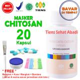 Masker Tiens Chitosan Herbal Anti Jerawat Isi 20 Kapsul Indonesia Diskon 50