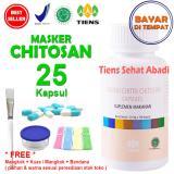 Jual Masker Tiens Chitosan Herbal Anti Jerawat Isi 25 Kapsul Indonesia Murah