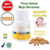 Spesifikasi Masker Vitamin E Penghilang Flek Jerawat Tiens Vitaline 10 Softgel Dan Harga