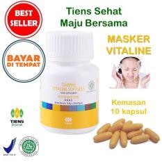 Promo Masker Vitamin E Penghilang Flek Jerawat Tiens Vitaline 10 Softgel Murah