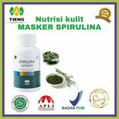 Harga Masker Wajah Spirulina 100 Kapsul Yang Murah Dan Bagus