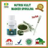 Jual Masker Wajah Spirulina Isi 100 Kapsul Murah Indonesia