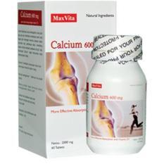 Berapa Harga Maxvita Calcium 600 Mg 60 Tablet Kalsium Tulang Gigi Mencegah Osteoporosis Pengapuran Tulang Keropos Tulang Vitamin D Di Indonesia