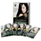 Situs Review Maya Onyx Herbal Hair Colouring Black 1 Box Isi 5 Sachet
